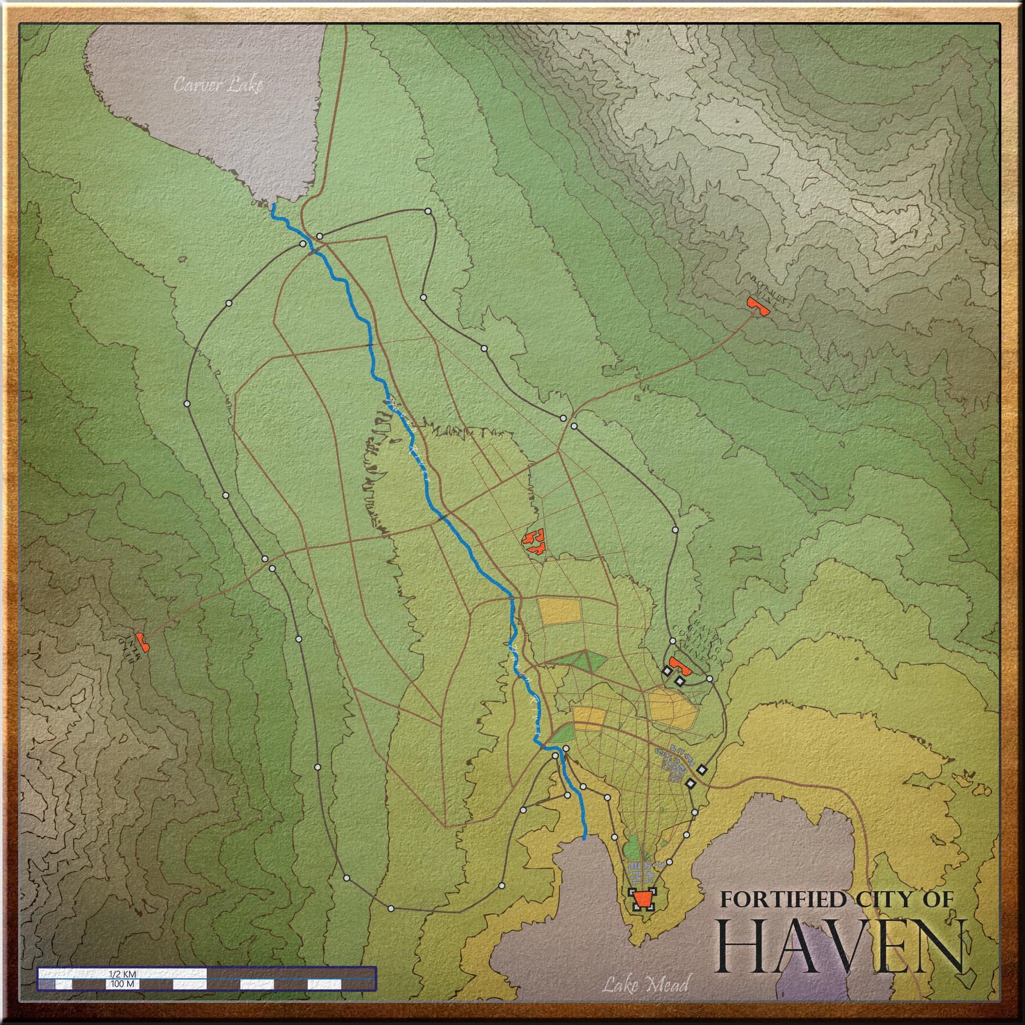 7K Maps - Dungeons & Dragons